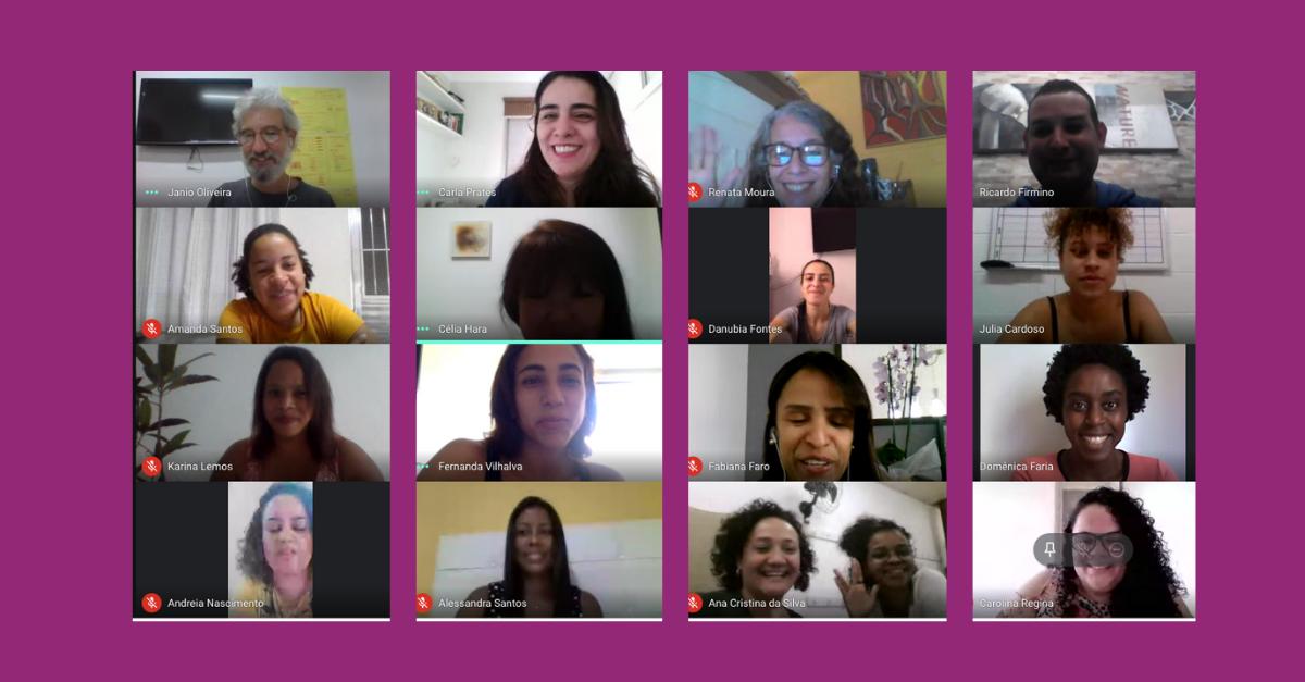 Colaboradores participam de formação do Programa Itaú Social UNICEF