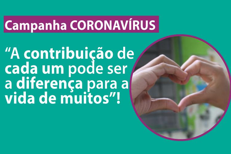 """Fundação faz """"Campanha de Alimentos"""" frente ao Coronavírus"""
