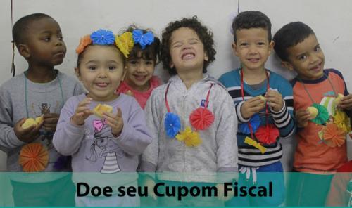 Doe seu cupom fiscal sem CPF e ajude nossos projetos sociais