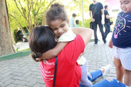 Empresas parcerias realizam voluntariado na Julita