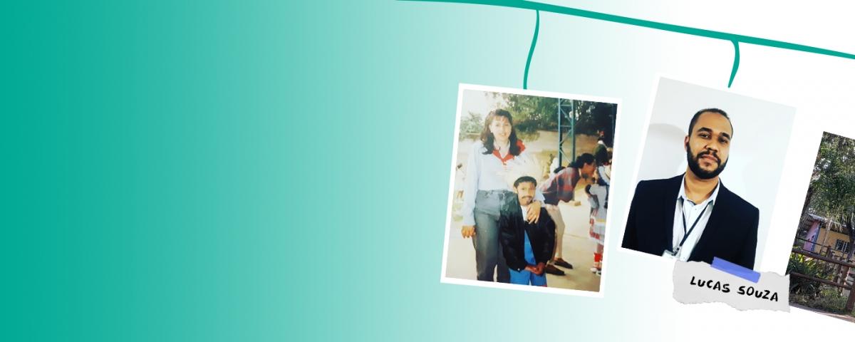Da creche ao primeiro emprego, de beneficiário a doador